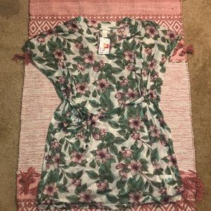 H&M tropical coverup NEVER WORN